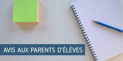 Avis aux parents
